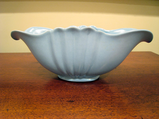 Blue Stangl Candy Dish