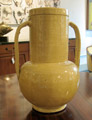 Large earthenware two handled vase